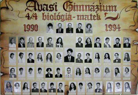 1994 IV/4 biológia-matek