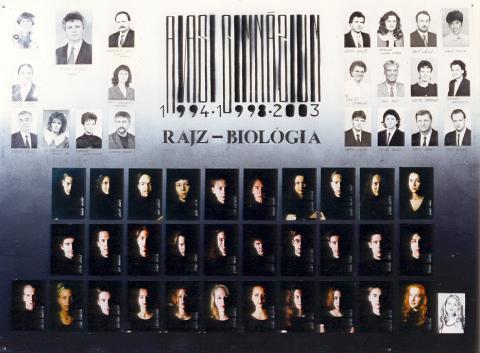 1998 IV/4 rajz-biológia
