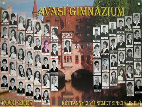 2007 12/1 kéttannyelvű - német speciális