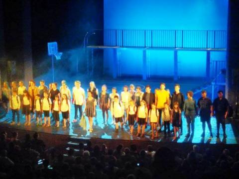 """A kolozsvári Apáczai Líceum diákjai a """"Dzsungel könyve"""" című musicalt adták elő"""