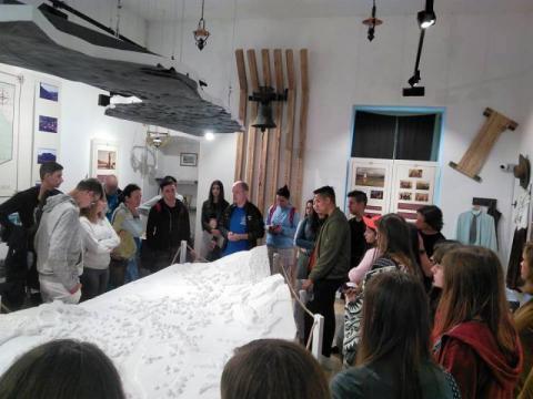 Az erdőszentgyörgyi Rhédey-kastély látogatása és a Maros mentén élők történelmét láttuk